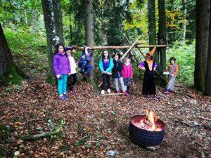 L'Ecole des Bois pour la fête Halloween